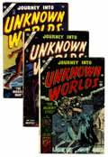 Golden Age (1938-1955):Horror, Journey Into Unknown Worlds (Atlas, 1954) Condition: Average VG....(Total: 7 Comic Books)