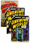 Golden Age (1938-1955):Horror, Journey Into Unknown Worlds Group (Atlas, 1955-57) Condition:Average VG.... (Total: 13 Comic Books)