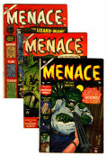 Golden Age (1938-1955):Horror, Menace Group (Atlas, 1953) Condition: Average VG.... (Total: 3Comic Books)