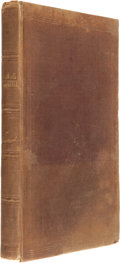 Books:Literature Pre-1900, [Edgar Allan Poe]. The Narrative of Arthur Gordon Pym ofNantucket, North America. London: Wiley and Putnam, 1838.. ...