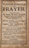 Books:Religion & Theology, Thomas Cobbet. A Practical Discourse of Prayer....