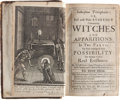 Books:Religion & Theology, Joseph Glanvill. Saducismus Triumphatus: or, Full and Plain Evidence Concerning Witches and Apparitions. In Two Parts. T...