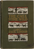 Books:Literature 1900-up, Jack London. The Call of the Wild. New York: The MacmillanCompany, 1904.. Later printing. Inscribed by Jack...