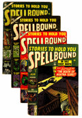 Golden Age (1938-1955):Horror, Spellbound Group (Atlas, 1952-4).... (Total: 4 Comic Books)