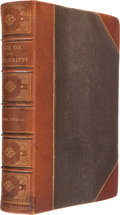 Books:Literature Pre-1900, Mark Twain. Life on the Mississippi. Boston: James R. Osgoodand Co., 1883.. First edition. Octavo. 624 pages.. ...