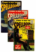Golden Age (1938-1955):Horror, Spellbound Group (Atlas, 1956-57) Condition: Average GD.... (Total:7 Comic Books)
