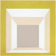 JOSEF ALBERS (American, 1888-1976) Study for Homage to the Square: Stucco Setting, 1958 Oil on board 29-1/2 x 29-1/2
