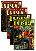 Golden Age (1938-1955):Horror, Strange Tales of the Unusual Group (Atlas, 1956-57).... (Total: 4Comic Books)