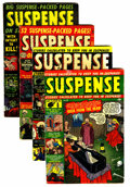 Golden Age (1938-1955):Horror, Suspense Group (Atlas, 1951-63).... (Total: 4 Items)