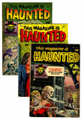 Golden Age (1938-1955):Horror, This Magazine Is Haunted #4-6 Group (Fawcett, 1952) Condition:Average VG+.... (Total: 3 Comic Books)