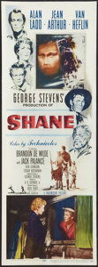 "Movie Posters:Western, Shane (Paramount, 1953). Insert (14"" X 36""). Western.. ..."