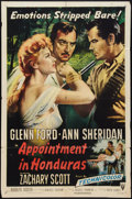 """Movie Posters:Adventure, Appointment in Honduras (RKO, 1953). One Sheet (27"""" X 41"""").Adventure.. ..."""