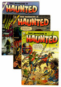 Golden Age (1938-1955):Horror, This Magazine Is Haunted #16, 17, and 21 Group (Fawcett, 1954)....(Total: 3 Comic Books)