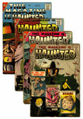 Golden Age (1938-1955):Horror, This Magazine Is Haunted Group (Fawcett, 1957-58).... (Total: 4Comic Books)
