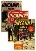 Golden Age (1938-1955):Horror, Uncanny Tales Group (Atlas, 1956-57) Condition: Average VG-....(Total: 8 Comic Books)