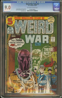 Weird War Tales #5 (DC, 1972) CGC VF/NM 9.0 Off-white to white pages