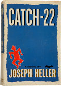 Books:Literature 1900-up, Joseph Heller. Catch-22. New York: Simon and Schuster,1961.. First edition, first printing. Signed by Heller on...