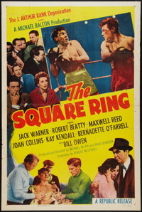 """The Square Ring Lot (Republic, 1955). One Sheets (2) (27"""" X 41""""). Sports. ... (Total: 2 Items)"""