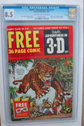 Golden Age (1938-1955):Miscellaneous, Odell's Adventures in 3-D #1 - File Copy (Harvey, 1953) CGC VF+ 8.5 Light tan to off-white pages.