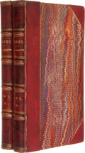 Books:Literature Pre-1900, Elizabeth Barrett Barrett [Browning]. Poems.... (Total: 2Items)