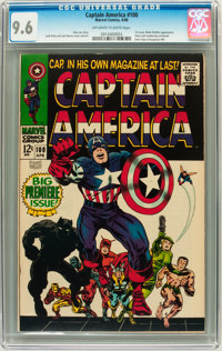 Captain America #100 (Marvel, 1968) CGC NM+ 9.6 Off-white to white pages