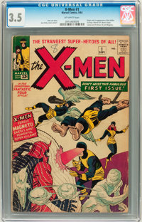 X-Men #1 (Marvel, 1963) CGC VG- 3.5 Off-white pages