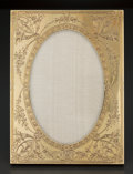 Silver Smalls:Other , AN AMERICAN GOLD ENGRAVED PICTURE FRAME . Theodore B. Starr, NewYork, New York, circa 1900. Marks: THEODORE B. STARR, INC...