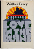 Books:Literature 1900-up, Walker Percy. INSCRIBED. Love in the Ruins. New York:Farrar, Straus & Giroux, [1971]. First edition, firstprinting...