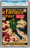 Silver Age (1956-1969):Superhero, Fantastic Four #61 (Marvel, 1967) CGC NM 9.4 White pages....