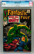 Silver Age (1956-1969):Superhero, Fantastic Four #70 (Marvel, 1968) CGC NM+ 9.6 Off-white to white pages....