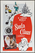 "Movie Posters:Children's, Santa Claus Lot (K. Gordon Murray , 1960). One Sheets (2) (27"" X 41""). Children's.. ... (Total: 2 Items)"