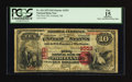 National Bank Notes:Oregon, Portland, OR - $10 1875 Fr. 416 The First NB Ch. # 1553. ...