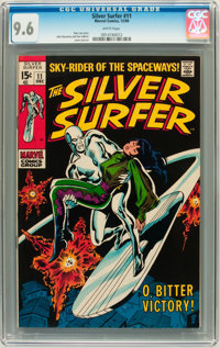 The Silver Surfer #11 (Marvel, 1969) CGC NM+ 9.6 White pages