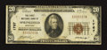 National Bank Notes:Kentucky, Springfield, KY - $20 1929 Ty. 1 The First NB Ch. # 1767. ...