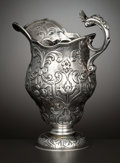 Silver Holloware, British:Holloware, A GEORGE II SILVER CREAM PITCHER . William Plummer, London,England, circa 1754-1755. Marks: (lion passant), (leopard's head...