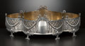 Silver Holloware, Continental:Holloware, A GERMAN SILVER JARDINIÈRE WITH GILT METAL LINER . Maker unknown,Norden, Germany, circa 1900. Marks: (3 stars in triangle),...(Total: 2 Items Items)