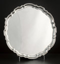 Silver Holloware, American:Trays, AN AMERICAN SILVER SALVER . Tiffany & Co., New York, New York,circa 1947-1956. Marks: TIFFANY & CO., MAKERS, 21745,STERL...