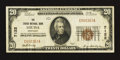 National Bank Notes:Kentucky, Louisa, KY - $20 1929 Ty. 1 The Louisa NB Ch. # 7122. ...