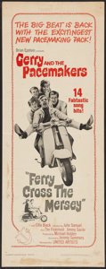"Movie Posters:Rock and Roll, Ferry Cross the Mersey (United Artists, 1965). Insert (14"" X 36""). Rock and Roll.. ..."