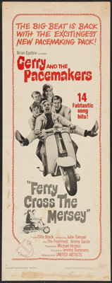 "Ferry Cross the Mersey (United Artists, 1965). Insert (14"" X 36""). Rock and Roll"