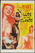 "Movie Posters:Adventure, Lure of the Islands (Monogram, 1942). One Sheet (27"" X 41""). StyleC. Adventure.. ..."