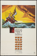 """Movie Posters:Adventure, The Old Man and the Sea (Warner Brothers, 1958). One Sheet (27"""" X41""""). Adventure.. ..."""