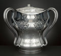 Silver Holloware, American:Loving Cup, AN AMERICAN SILVER PLATED LOVING CUP TROPHY . Barbour Silver Co.,Hartford, Connecticut, circa 1906. Marks: BARBOUR SILVER...