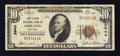 National Bank Notes:Kentucky, Ashland, KY - $10 1929 Ty. 1 The Second NB Ch. # 3944. ...