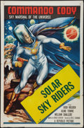 """Movie Posters:Serial, Commando Cody (Republic, 1953). One Sheet (27"""" X 41""""). Chapter 10--""""Solar Sky Riders."""" Serial.. ..."""