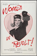 """Movie Posters:Exploitation, Andy Warhol's Women in Revolt (Unknown, 1971). One Sheet (27"""" X41""""). Exploitation.. ..."""