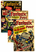 Silver Age (1956-1969):Superhero, Fantastic Four Group (Marvel, 1964-65) Condition: Average VG/FN.... (Total: 6 Comic Books)