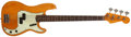 Musical Instruments:Bass Guitars, 1964 Fender Precision Bass Refinished Natural Solid Body ElectricBass Guitar, #L26017....