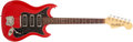 Musical Instruments:Electric Guitars, 1960s Hagstrom III Red Solid Body Electric Guitar, #675782. ...