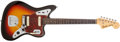 Musical Instruments:Electric Guitars, 1962 Fender Jaguar Sunburst Solid Body Electric Guitar, #88136. ...